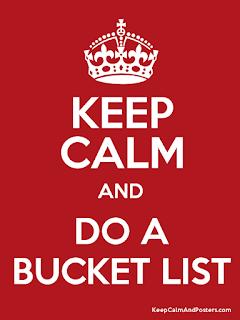 40 choses à faire avant mes 40 ans ! My Bucket list !