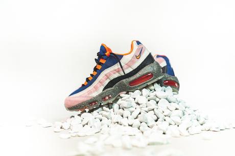 La Nike Air Max 95 est disponible dans 3 colorway légendaires de la marque