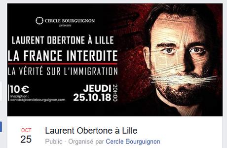Petits producteurs de haine raciste (suite) :  Alain Lefebvre, créateur de  #Biba…  et du « cercle Pol Vandromme »