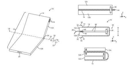 Apple dépose un énième pour un iPhone pliable