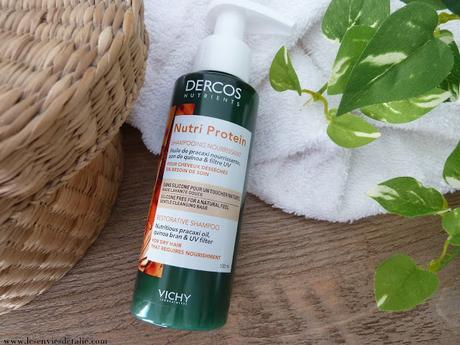 Shampooing nourrissant Nutri Protein Dercos Nutrients de Vichy