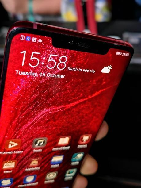 Huawei présente la nouvelle série des smartphones Mate 20