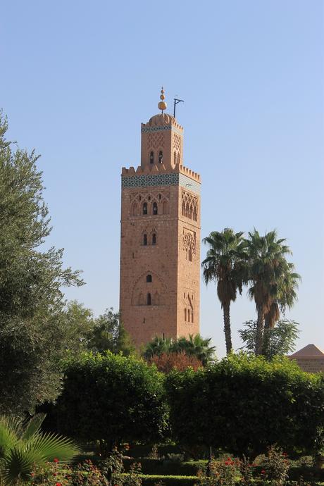 Le minaret de Koutoubia à Marrakech