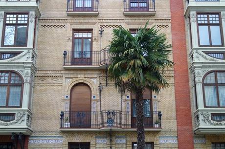 espagne saragosse art nouveau modernisme paseo sagasta