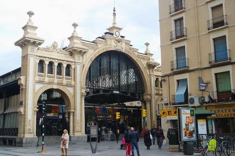 espagne saragosse art nouveau modernisme mercado marché central