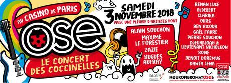 Le concert des Coccinelles au Casino de Paris