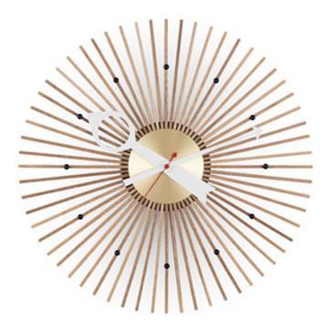 Popsicle Clock de George Nelson