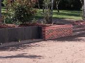 Muret briques