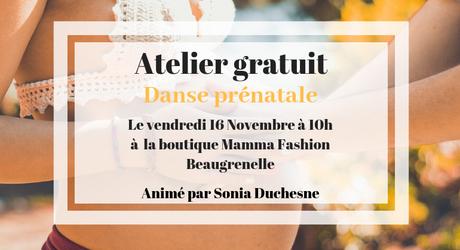 Danse prénatale : un atelier découverte sur Paris
