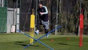 Messi progresse, Umtiti revient avec le groupe