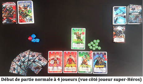 Justice League Ultimate Battle Cards, Bad Guys or Good Guys chez Topi Games