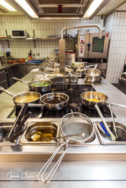 Une matinée dans la cuisine du Pont de Brent, chez Stéphane Décotterd!