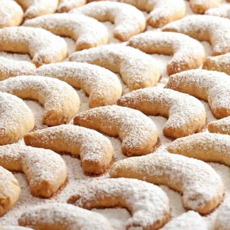 Vanille Kipferl – petits sablés à la vanille au thermomix