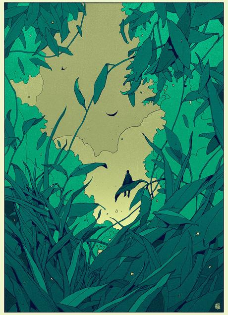 Editorial illustrations and drawings by Simón Prades