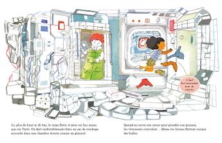 Igor et Souky à la conquête de l'espace de Sigrid Baffert illustré par Sandrine Bonini