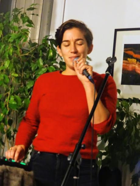 Zoe Boekbinder au Poisson sans Bicyclette - Schaerbeek - le 31 octobre 2018