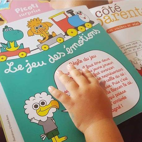 Les magazines pour les touts-petits