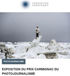 Fondation CARMIGNAC-9me édition – Arctique-  Exposition du Prix Carmignac du Photojournalisme