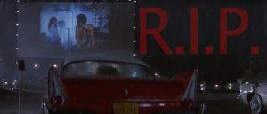 Scène du Drive In dans le film Christine.