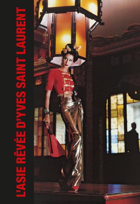 L'Asie rêvée d'Yves Saint Laurents'expose à Paris