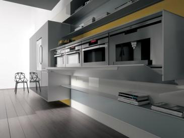 Artematica Vitrum, une cuisine design par Valcucine - À Lire