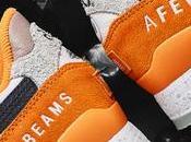 Afew Beams Asics Lyte Orange Date sortie