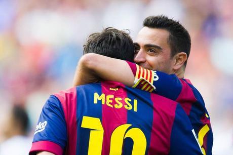 Quand Xavi s'enflamme totalement pour Lionel Messi