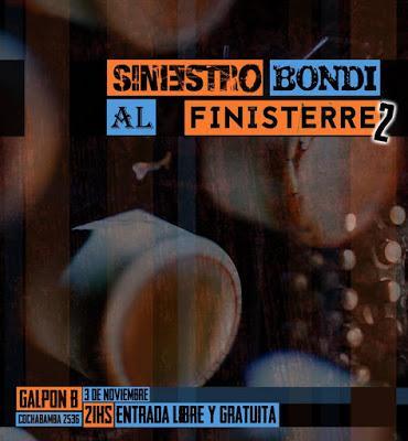 La Siniestra présente son nouveau disque à Galpón B avec Finisterre et Alto Bondi [à l'affiche]