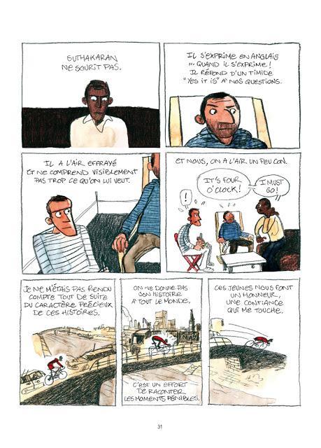 Droit d'asile Bd aux éditions des ronds dans l'O Page 31