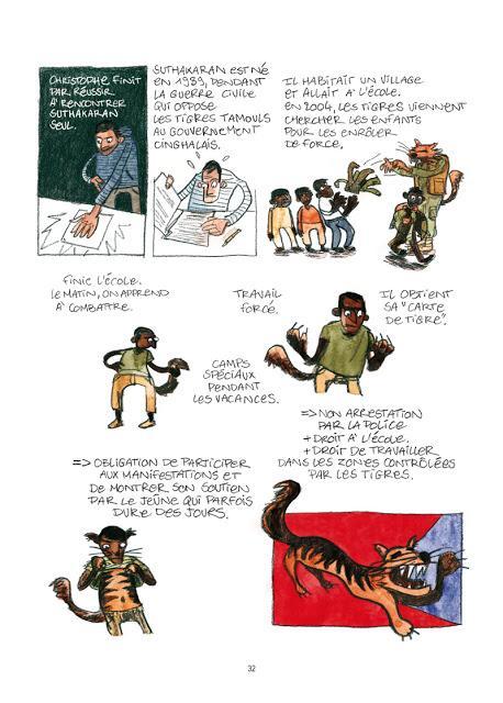 Droit d'asile Bd aux éditions des ronds dans l'O Page 32