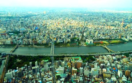 Tokyo Skytree et le Temple Senzo-ji