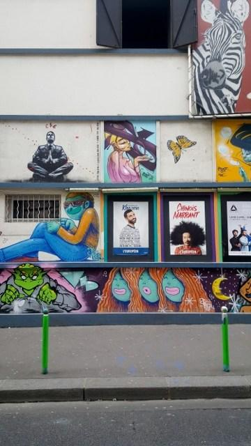 Street Art rue Biot