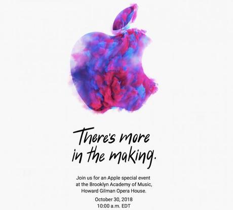 Keynote Apple du 30 octobre : les chiffres clés