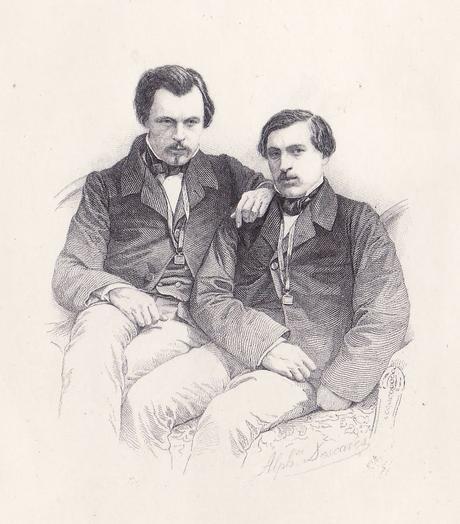 Récit de voyage – Les frères Goncourt, Alger, notes au crayon (1)