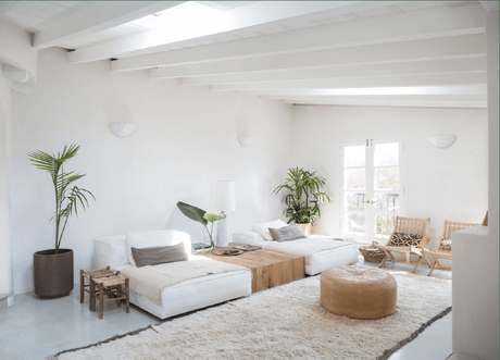 Ambiance cosy et naturelle homemade à Los Angeles - @decocrush - www.decocrush.fr