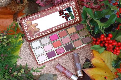La palette « Gingerbread Spice » de Too Faced !