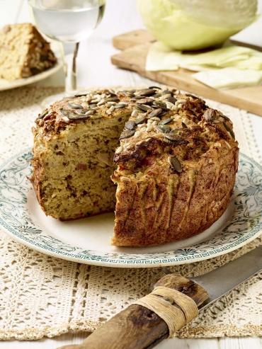 Recette : Pudding bio au chou vert et graines croquantes par Belledonne