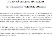 centenaire Homero Expósito Academia Nacional Tango [Troesmas]