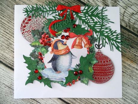 Carte de Noel suite à un challenge