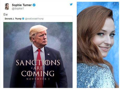 Game of Thrones avec Trump, Suleimani et les sœurs Stark