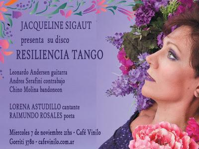 Jacqueline Sigaut au Café Vinilo demain soir [à l'affiche]