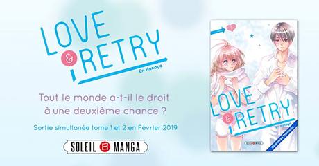 Le manga Love & Retry deEn HANAYA annoncé chez Soleil Manga
