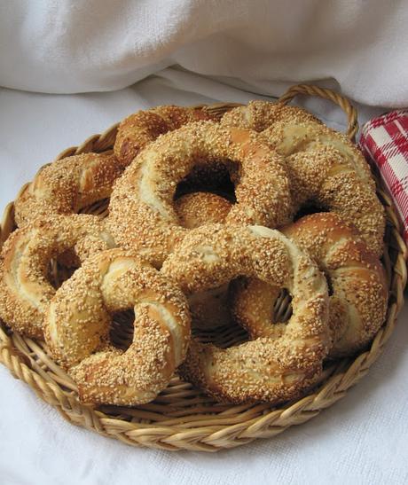 Simit, un pain turc à Istanbul
