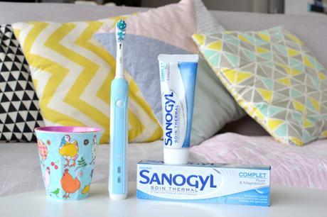 J'ai testé pour vous : les dentifrices à l'eau thermale Sanogyl