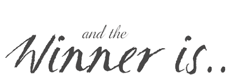 Résultats du concours pour fêter les 4 ans du blog 🎁