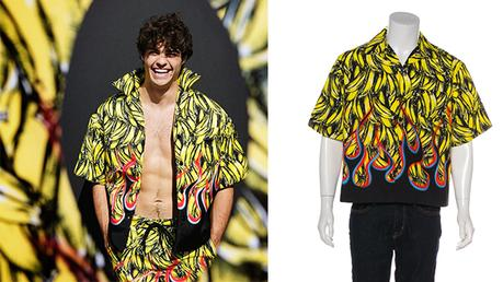 STYLE : Noah Centineo and the bananas