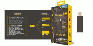 Cross Drive de Steelplay permet de jouer avec votre manette sur PS4/Switch