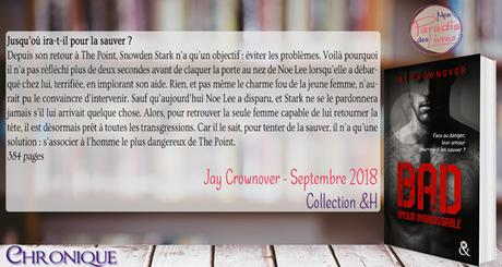 Bad #5 – Amour insaisissable – Jay Crownover