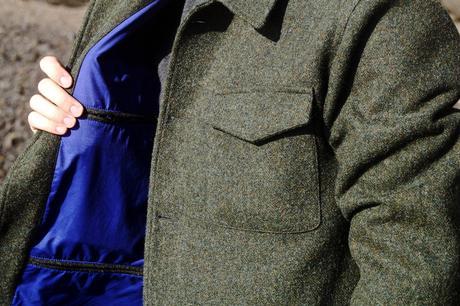blog_mode_homme_style_paris_bordeaux_habiller_automne_look_manteau_tweed-elegant-chaud-hiver_saint_malo_bretagne_churchs_leyton_cuir_vert_pantalon_veours-hollington_ceinture_bill_tornade_violette_col-roule_balibaris