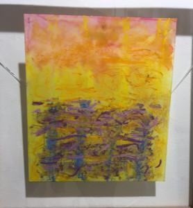 Espace Commines et Bodéna Galerie  –  » le Temps de peindre » Monique Frydman  jusqu'au 11 Novembre 2018